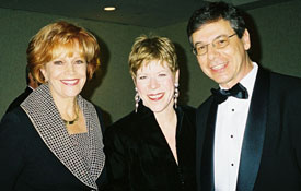 Israeli Ambassador Daniel and Anne Ayalon with Samantha at the Israel Gala honoring the Ambassador in Washington, DC.