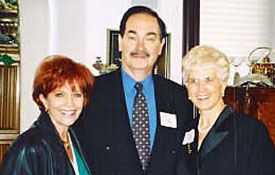Samantha, Cal Thomas, Fox News, and Montana Govenor Judy Maltz at the Republican Dinner in Missoula, Mt.