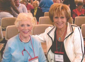 Ann Coors at the Heritage Foundation Conference in Newport, CA