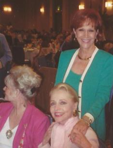 Actress Ann Jeffries at Media Fellowship in Los Angelos