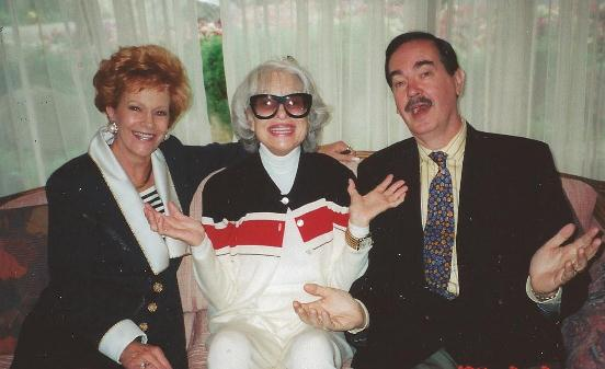 Carol Channing, Cal Thomas, Fox News in Rancho Mirage, CA