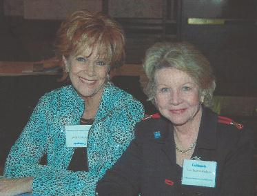 June Scobee Rogers, widow of Dick Scobee, Shuttle Commander of Challenger 7 at Guideposts National Cabinet in New York City