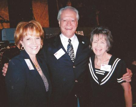 Mr and Mrs Larry Poland, President of Master Media International and the fundraiser at the Beverly Hilton in Beverly Hills, CA