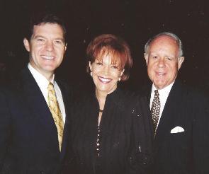 Senator Sam Brownback and Movie Producer Ken Wales in Beverly Hills, CA