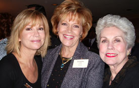 Kathie Lee Gifford, Samantha and Joan Epstein (Kathie's mother) at the Cal Thomas Media Dinner in Washington, DC.