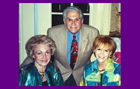 Betty and Johnny Mann with Samantha when Johnny was speaker for CCL in Rancho Mirage, CA