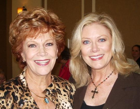 Actress Nancy Stafford at the Christian Booksellers Convention in Orlando, FL